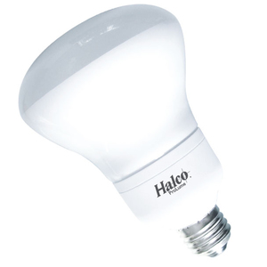 Halco 46100 Compact Fluorescent Lamp, R30, 16W, 2700K