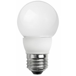TCP LED5E26G1627KF LED Lamp, Dimmable, G16, 5W, 120V, Medium Base