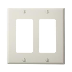 80409-NW WHITE 2G DECORA NYLON PLATE