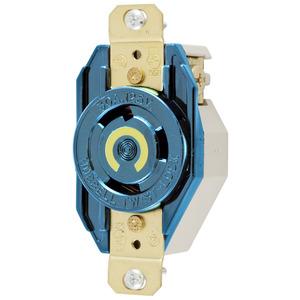 Hubbell-Wiring Kellems HBL2610M6 LKG RCPT 30A 125V L5-30R BLUE