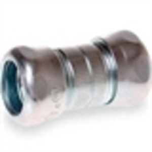 Hubbell-Raco 2922 EMT Compression Coupling, Steel, 1/2 inch