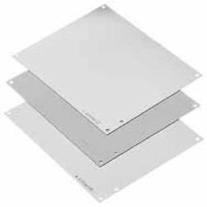 """Hoffman A30P24G Panel For Enclosure, 30"""" x 24"""", Type 3R, 4, 4X, 12/13, Conductive Steel"""