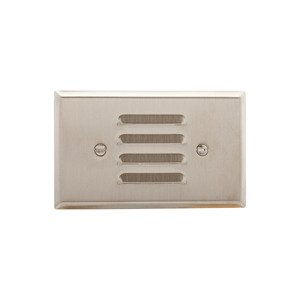 Eaton Wiring Devices 93630-BOX WALLPLATE 1G LOUVER HORIZONTAL STD SS
