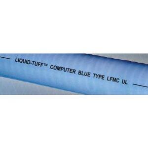 "AFC 6403-45-00 Liquidtight Metallic Conduit, 3/4"", Computer Blue, Type UL, 500' Reel"
