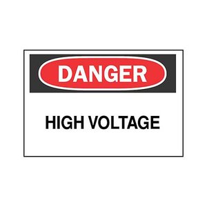 Brady 84877 Electrical Hazard Sign