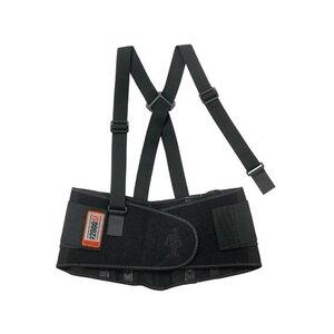 Ergodyne 11284 High-Performance Back Support Belt, Black - Large
