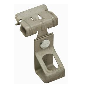 "nVent Caddy 4TI24 Rod Hanger, Type: Hammer-On, 1/4"" Rod to 1/8"" to 1/4"" Beam, Steel"