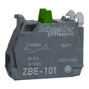 ZBE101 1 NO CONTACT FOR ZB4 STYLE