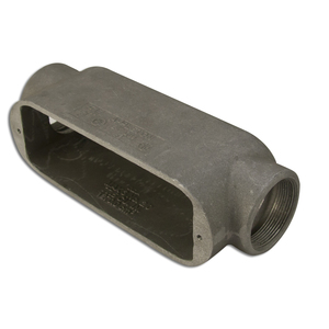 "Appleton C49 Conduit Body, Type: C, Size: 1-1/4"", Form 9, Aluminum"