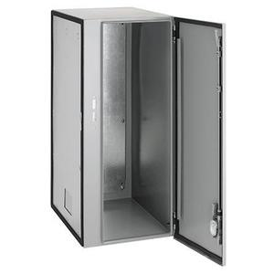 "Hoffman AXD18 Disconnect Enclosure, NEMA 12, Single Door, 34"" x 14"" x 18"", Steel"