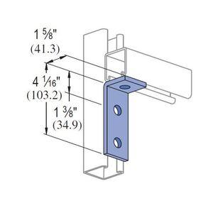 Unistrut P1326-HG Corner Angle