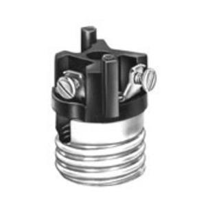 Leviton 8004-M Incandescent Lampholder, Medium Base, Keyless, Aluminum