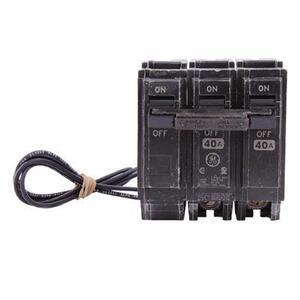 ABB THQL2140ST1 Breaker, 40A, 2P, 120/240V, 10 kAIC, Shunt Trip 120VAC