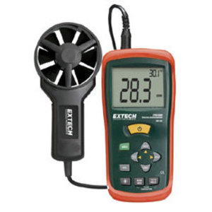 Extech AN100 Thermo-Anemometer, LCD