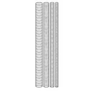 Superstrut H104-3/8X6SS316 3/8X6 316 STAINLESS THREADED ROD