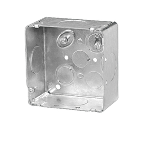"CI521711 4"" SQ BOX 2-1/8"" DEEP"