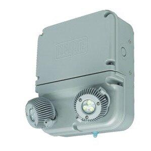 Hubbell-Dual-Lite DYN6I-WM 6 Watt. 2-Head, Industrial LED Emergency Light, 120-277VAC