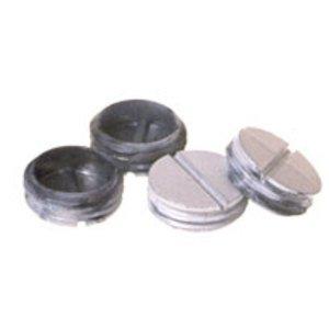 Hubbell-Raco 5270-1 Close-Up Plug, Hub Size 3/4 Inch, White, Non-Metallic
