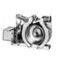 Eaton 9-885-25 Magnet Coil, Renewal Part, 24VDC, for 1507 Shoe Brake, 19