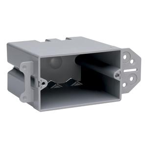 Pass & Seymour SH1-22-B PL BX 1G HORIZONTAL MNT W/QC (M100)