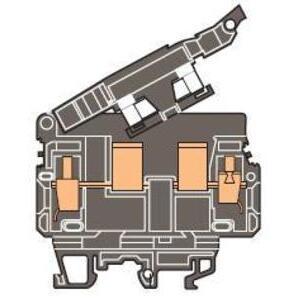Entrelec 019909513 Fuse Holder Terminal Block, Type: ML 10/13.SF