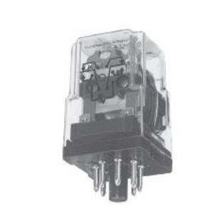 Tyco Electronics KRPA-11DN-24 Relay, Ice Cube, 8-Pin, 2PDT Contacts, 24VDC Coil, Enclosed