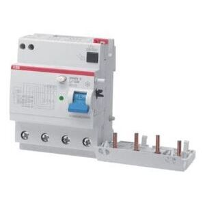 Thomas & Betts DDA202A-40/0.03APR Residual Current Device, for MCB S200 Series, 30mA Residual, 40A, 4P