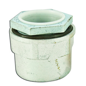 """Appleton HUB-150 Conduit Hub, Size: 1-1/2"""", Insulated, Gasketed, Malleable Iron"""