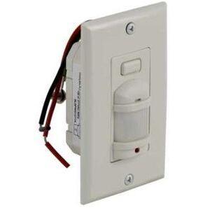 Square D SLSPWS1277AW Occupancy Sensor, Wall Mount, PIR, 180°, 277V, White *** Discontinued ***