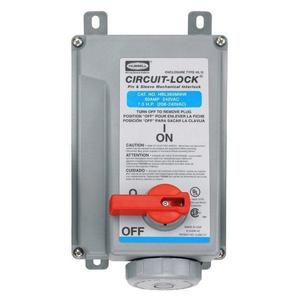 Hubbell-Wiring Kellems HBL360MI6W PS, IEC, MECHINT, 2P3W, 60A 250V, W/T