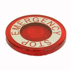 Eaton 10250TC53 Push Button, 30mm, Push-Pull, Red, Lens, 40mm, EMERG. STOP