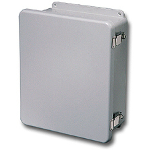 "Stahlin J1210HPL Enclosure, Hinged, Padlock Latches, 12"" x 10"" x 5"""