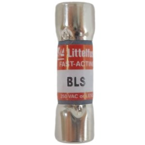 Littelfuse BLS001 1A, 600V, BLS Series Fast Acting Fuse