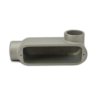 "Appleton LR200-M Conduit Body, Type LR, 2"", Form 35, Malleable Iron"