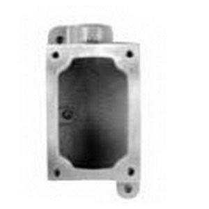 "Appleton EDSC271 Mounting Body EDS Type, 3/4"", 2-Gang, Feed Thru, Malleable Iron"