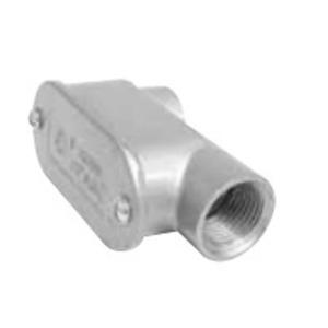 "Topaz 212 Conduit Body, Type SLB, 3/4"", Cover/Gasket, Aluminum"