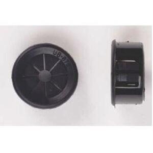 "Bizline NUB50J Universal Bushing, Type: Shuttered Opening, Size: 1/2"", Black, Nylon"