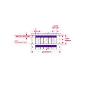 """DAT-39-292-PL 1.000 INX3.750""""  (25.40 MM"""
