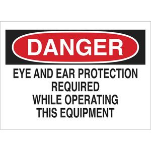 22974 PROTECTIVE WEAR SIGN