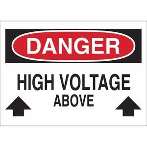 25539 ELECTRICAL HAZARD SIGN