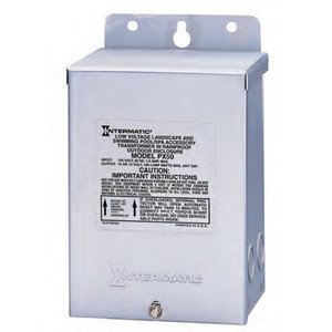Intermatic PX300S Transformer, Pool/Spa Lights, 300 Watt, 120V, 3A, Input, 12V Output