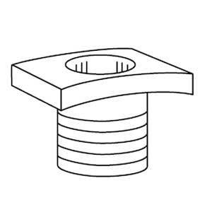 Kindorf G-972-1/2 Steel Spacing Nipple
