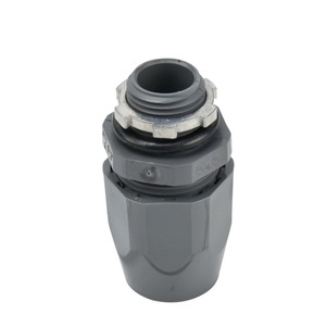 """Carlon LT43E-NEW Liquidtight Connector, 3/4"""", Straight, Non-Metallic"""
