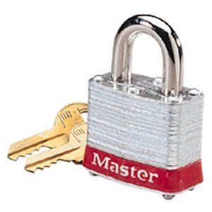 Ideal 44-907 Lockout Padlock, Keyed Alike, Steel
