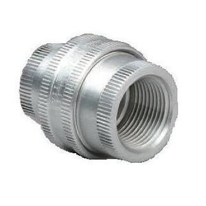 "Hubbell-Killark GUF-1 Union, Female to Female, 1/2"", Explosionproof, Aluminum"