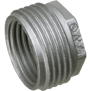 "Arlington 524 Reducing Bushing, Threaded, 1"" x 3/4"", Zinc Die Cast"