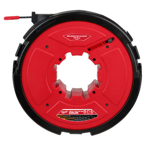 Milwaukee 48-44-5197 M18 FUEL™ Angler™ 200' Non-Conductive Polyester Pulling Fish Tape Drum