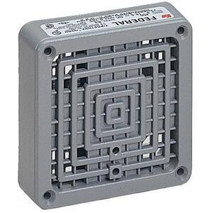 Federal Signal 350-024-30 Vibratone Horn, 24V AC, 0.90A, 100 dB @ 10 ft, Gray, Zinc Die Cast