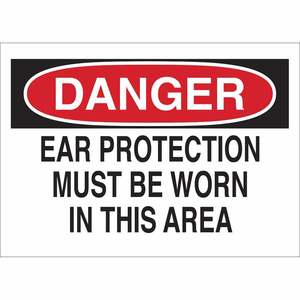 25479 EAR PROTECTION SIGN