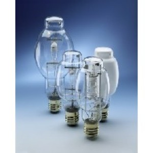 SYLVANIA MS175/PS/BU-ONLY Metal Halide Lamp, Pulse Start, ED28, 175W, Clear